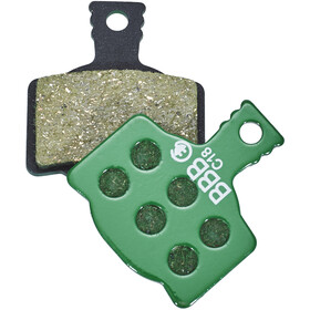BBB DiscStop E-Bike BBS-36E Brake Pads, green
